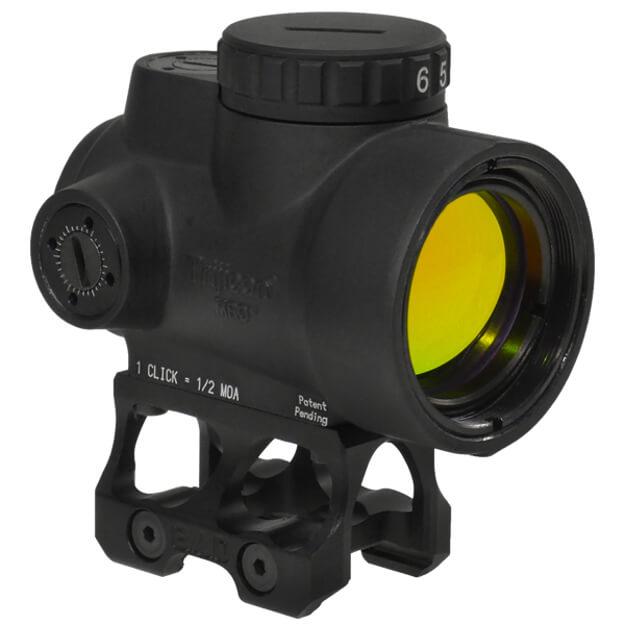 Trijicon 1x25 MRO 2 MOA Adjustable Red Dot w/Battle Arms Trijicon MRO Absolute Co-Witness Mount