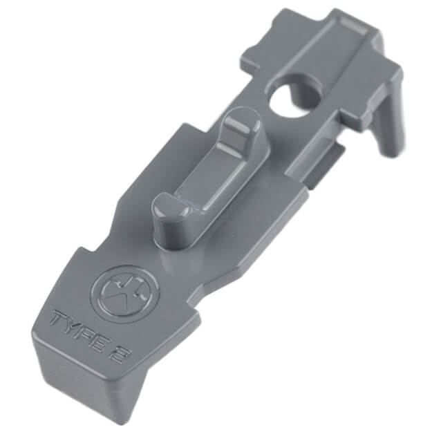 MAGPUL Tactile LockPlate - Type 2 5Pack - Stealth Grey