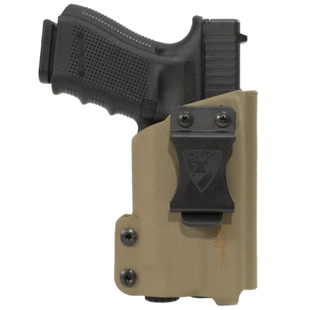 CDC Holster Glock 19/23/32 w/ APLc Right Hand - E2 Tan