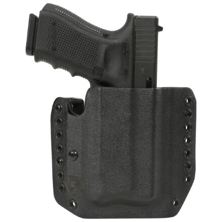Alpha Holster Glock 19/23/32 w/ APLc Right Hand - Black