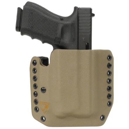 Alpha Holster Glock 19/23/32 w/ APLc Right Hand - E2 Tan