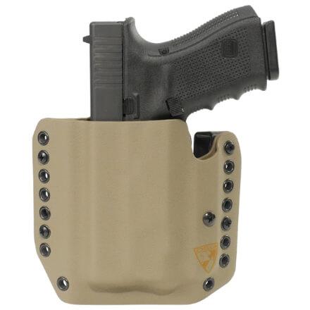 Alpha Holster Glock 19/23/32 w/ APLc Left Hand - E2 Tan