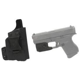 DSG CDC Glock 43 RH BLK includes Streamlight TLR-6 Glock 42/43 Tactical Light - Black