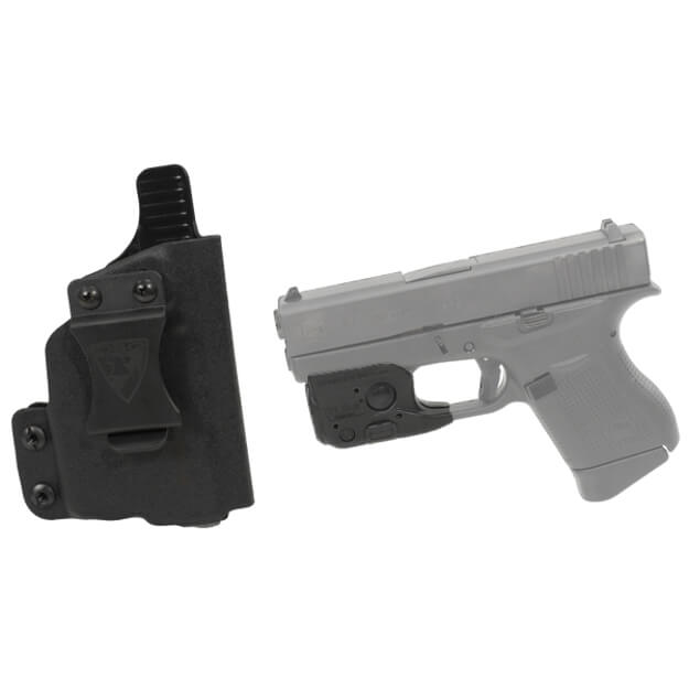 DSG CDC Glock 43 RH BLK includes Streamlight TLR-6 Glock 42/43 Tactical Light - Black