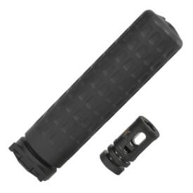 Griffin Armament M4SD-II 5.56MM Suppressor Full Size w/ QD Mount
