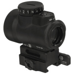 Trijicon 1x25 MRO 2 MOA Adjustable Red Dot w/ Midwest Industries QD Co-Witness Mount