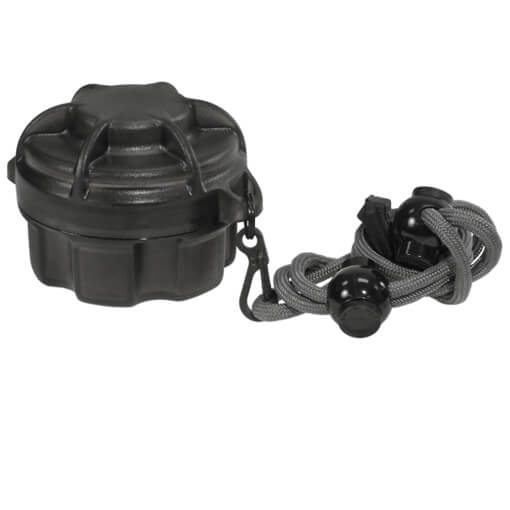 Surefire Spares Carrier w/ Lanyard - Holds 6 Batteries and Short Style Lamp