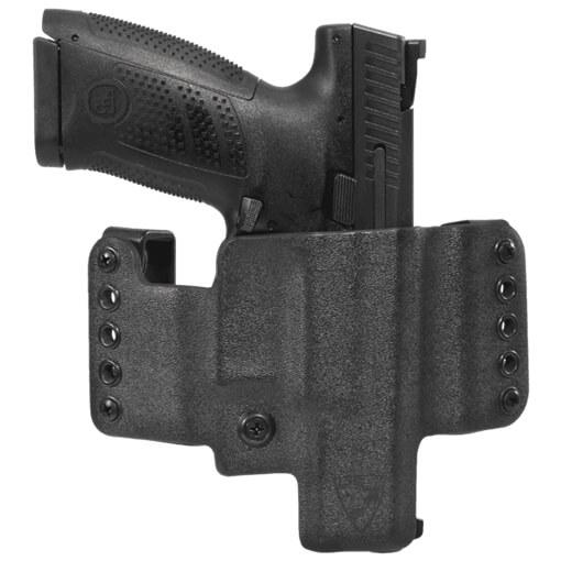 HR Vertical Holster CZ P10C Right Hand - Black