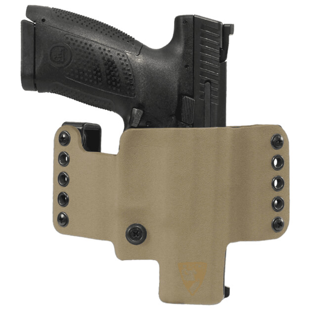 HR Vertical Holster CZ P10C Right Hand - E2 Tan