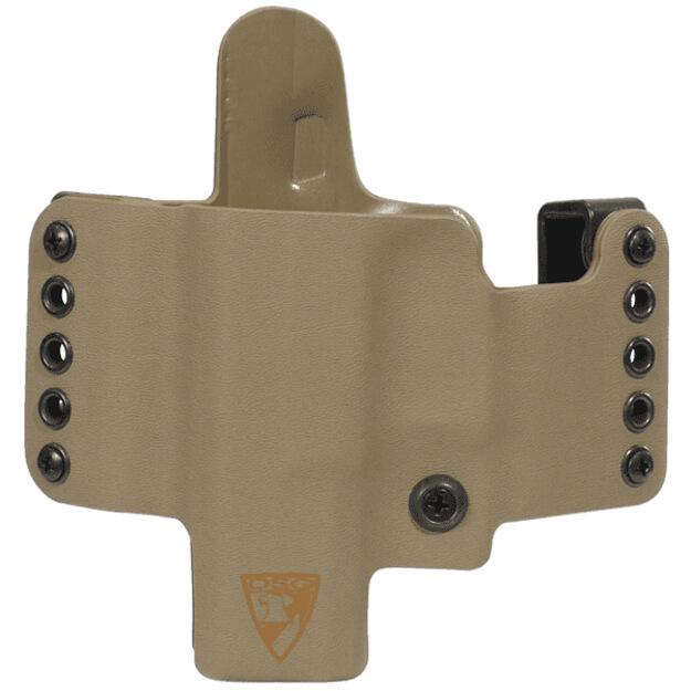 HR Vertical Holster CZ P01 Left Hand - E2 Tan