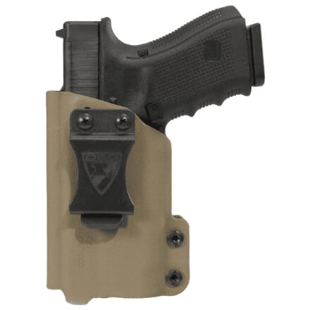 CDC Holster Glock 19/23/32 w/ APLc Left Hand - E2 Tan