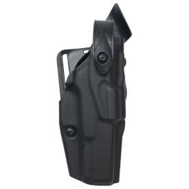 Safariland 6360 ALS Lv III Mid Ride UBL Holster - STX Plain Black Sig Sauer P320 9mm