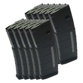 MAGPUL PMAG 30rd W/ Window GEN M2 - Black - 10 Pack
