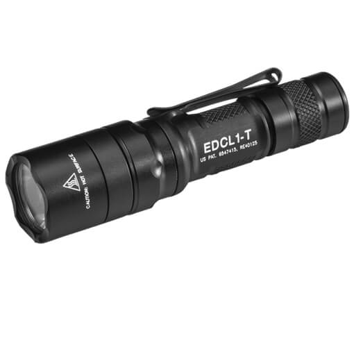 Surefire Every Day Carry Tactical LED Dual Output 5 / 500 Lumens - Black