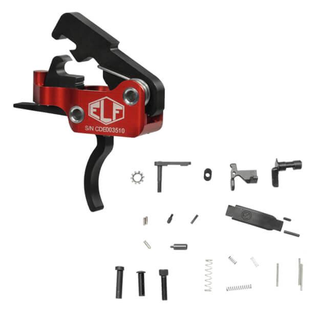 Elftmann Tactical ELF-SE Curved Trigger w/ DSG Lower Parts Kit