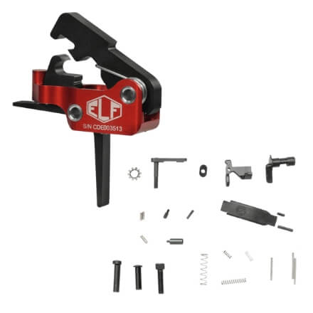 Elftmann Tactical ELF-SE Straight Trigger w/ DSG Lower Parts Kit