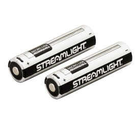 Streamlight 18650 USB Battery - 2 Pack