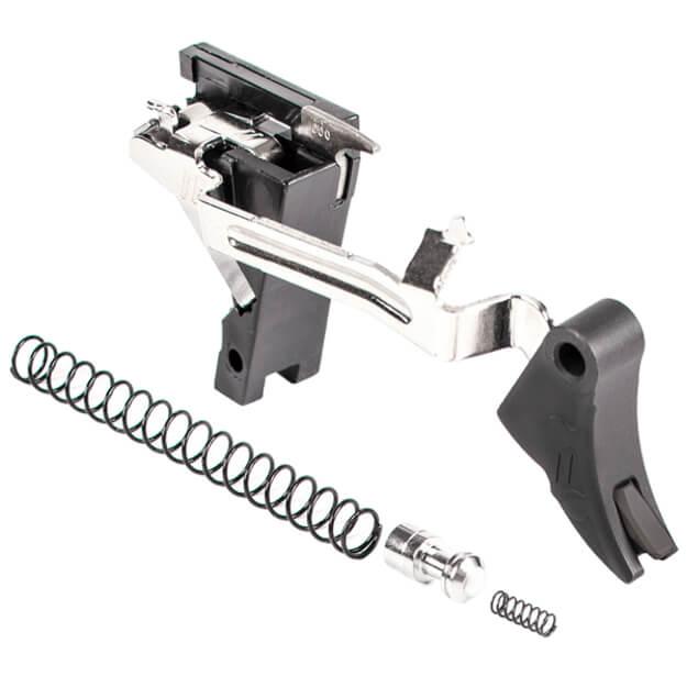 Zev PRO Curved Face Trigger Drop-In Kit Gen 1-3 9MM - Black/Black