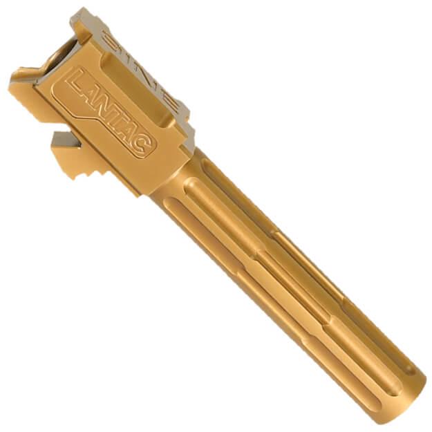 LANTAC 9INE Glock 19 Fluted Barrel - Bronze