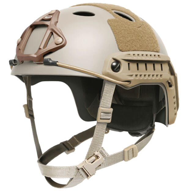 Ops-Core FAST High Cut Carbon Large Helmet w/ EPP Padding & OCC Dial - Urban Tan
