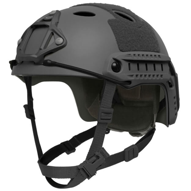 Ops-Core FAST High Cut Carbon Large Helmet w/ EPP Padding & OCC Dial - Black
