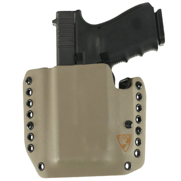 Alpha Holster Glock 19/23/32 w/ TLR-7/8 Left Hand - E2 Tan