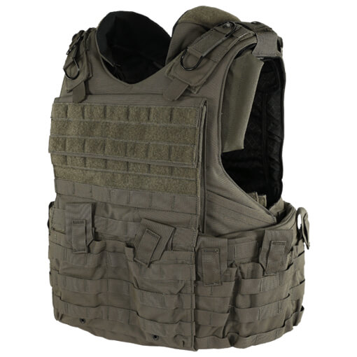 Protech Tactical FAV Modular Webbing Vest MR01 Type IIIA - Ranger Green - Large - Display Model