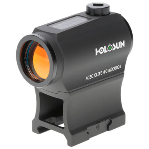 Holosun HE403C-GR Elite Micro Sight - Green Dot / Solar Panel