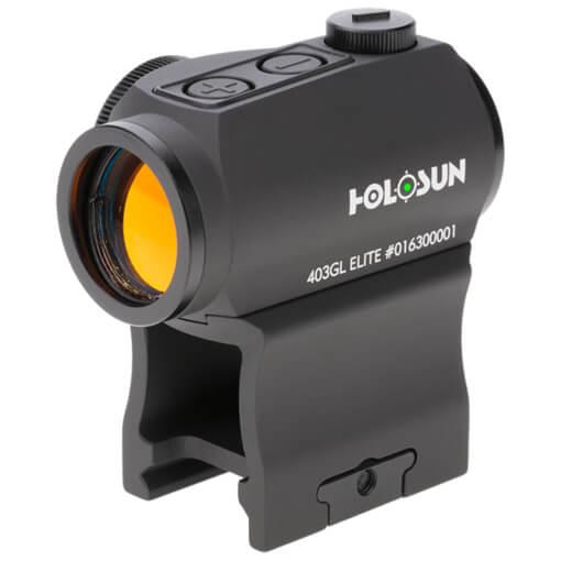 Holosun HE403GL-GR Elite Micro Sight - Green Dot / Shake Awake