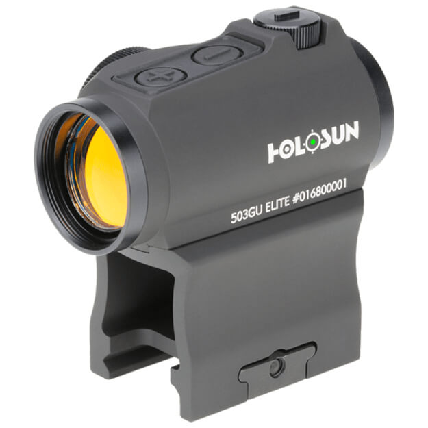 Holosun HE503GU-GR Elite Micro Sight - Green Circle Dot / Shake Awake