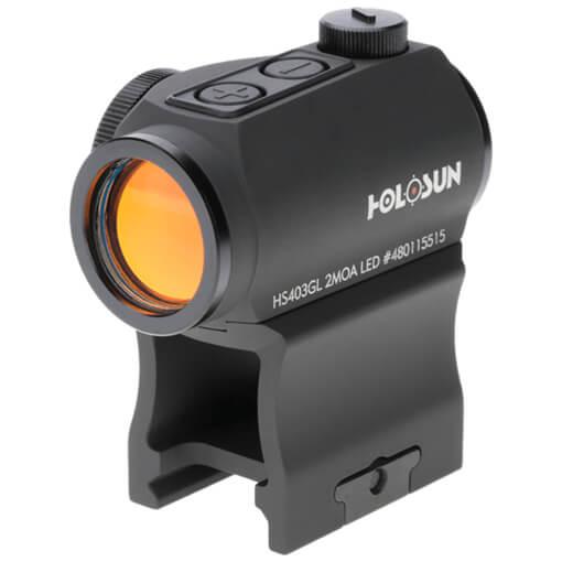 Holosun HS403GL Micro Sight - Red Dot / Shake Awake