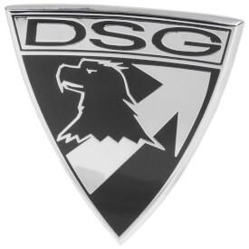DSG Badge Car Identification Emblem - Black / Silver