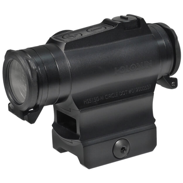 Holosun HS515GM Micro Sight - Red Circle Dot / Shake Awake / QD Mount