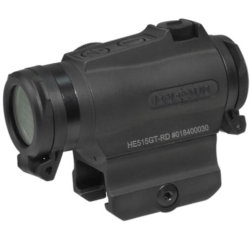 Holosun HE515GT-RD Elite Micro Sight - Red Circle Dot / QD Mount / Titanium