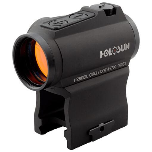 Holosun HS503GU Reflex Sight - Red Circle Dot / Shake Awake