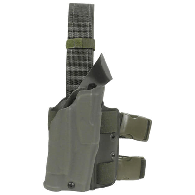 Safariland 6354 ALS Drop Leg Holster Springfield XDM 9mm w/ TLR1 - OD Green