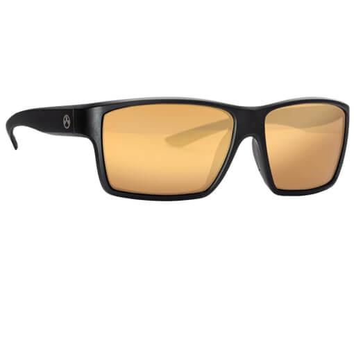 MAGPUL Explorer Polarized Eyewear - Black / Gold Mirror Bronze