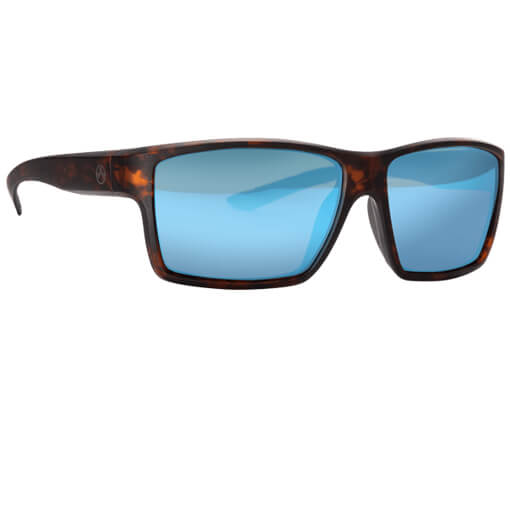 MAGPUL Explorer Polarized Eyewear - Tortoise / Blue Mirror Bronze