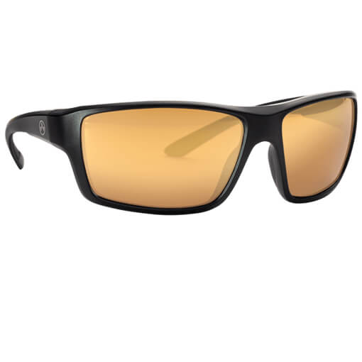 MAGPUL Summit Polarized Eyewear - Black / Gold Mirror Bronze