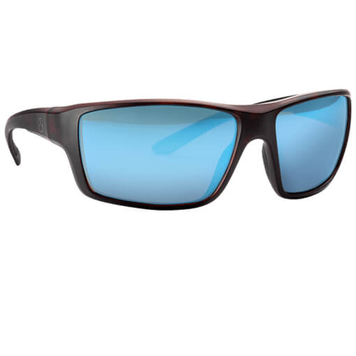 MAGPUL Summit Polarized Eyewear - Tortoise / Blue Mirror Bronze