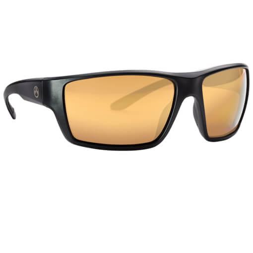 MAGPUL Terrain Polarized Eyewear - Black / Gold Mirror Bronze