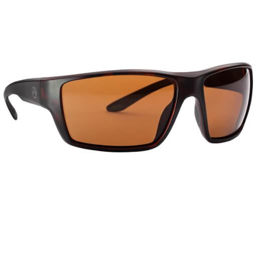 MAGPUL Terrain Polarized Eyewear - Tortoise / Gold Mirror Bronze