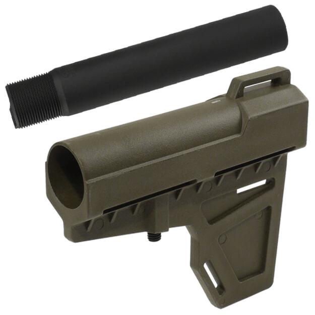 KAK Industry Shockwave Blade Pistol Stabilizer w/ Pistol Tube - Olive Drab Green