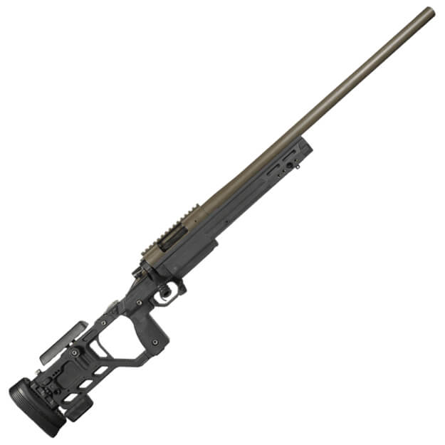 "Prometheus 6MM Creedmoor 22"" Bolt Action Rifle - Surgeon 591 w/ KRG Whiskey-3 Chassis - Display"