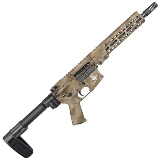 "TriArc TSR-15 Service 10.5"" TRACK Barrel 5.56MM Pistol w/ LAW Adapter - Arid Multicam Cerakote"