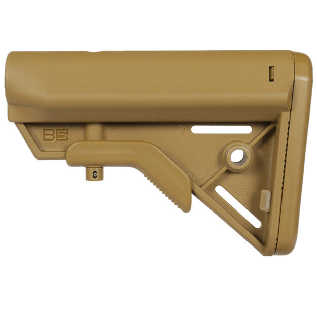 B5 Systems Bravo Buttstock Milspec - Coyote Brown