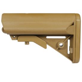 B5 Systems Enhanced SOPMOD Buttstock Milspec - Coyote Brown