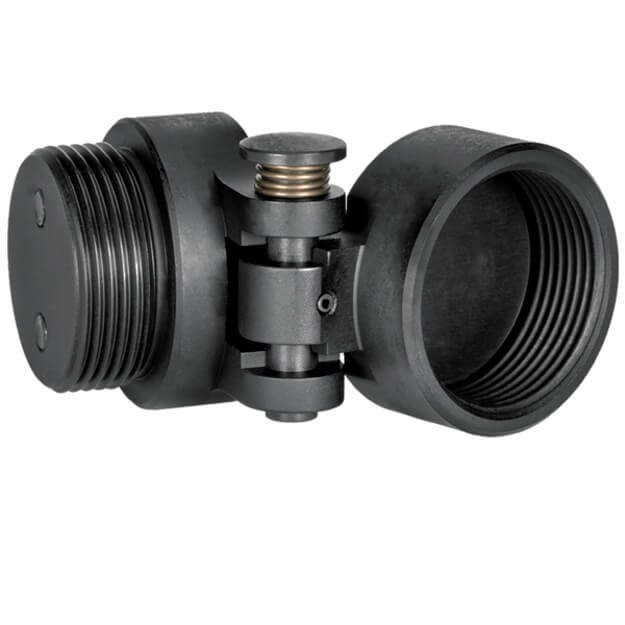 SB Tactical BTFA Buffer Tube Folding Adapter - Reversible