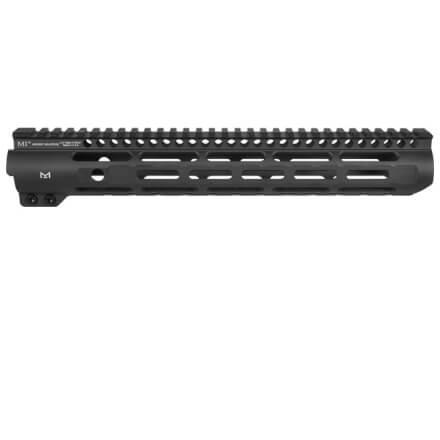 "Midwest Industries 12.625"" Slim Line M-LOK Handguard - Black"