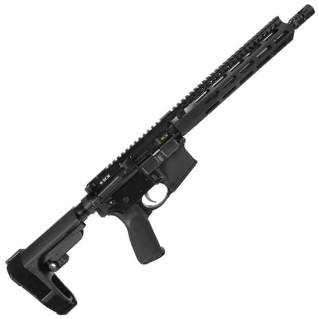 "BCM 11.5"" Recce Pistol Enhanced Lightweight w/ 10"" MCMR Rail - SBA3 Brace - Black"